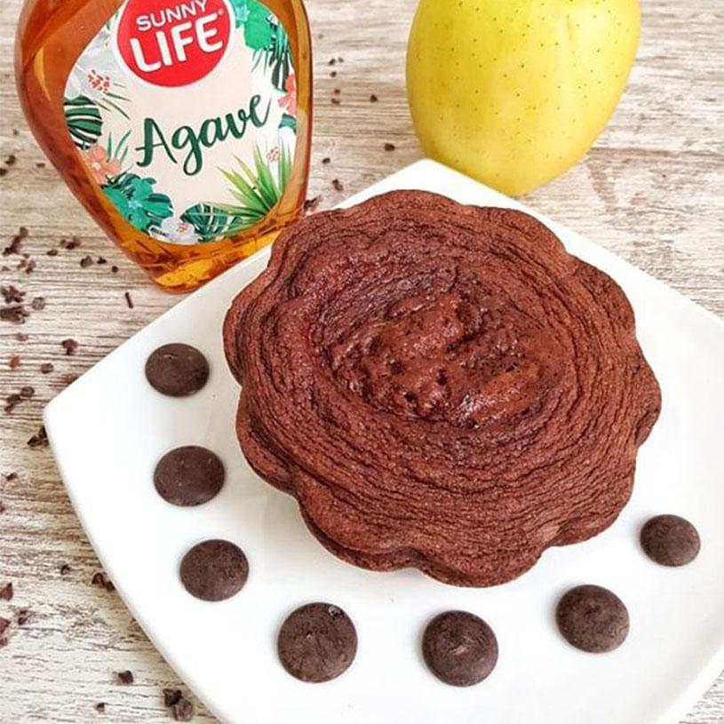 Receta de Mugcake de Chocolate y Agave