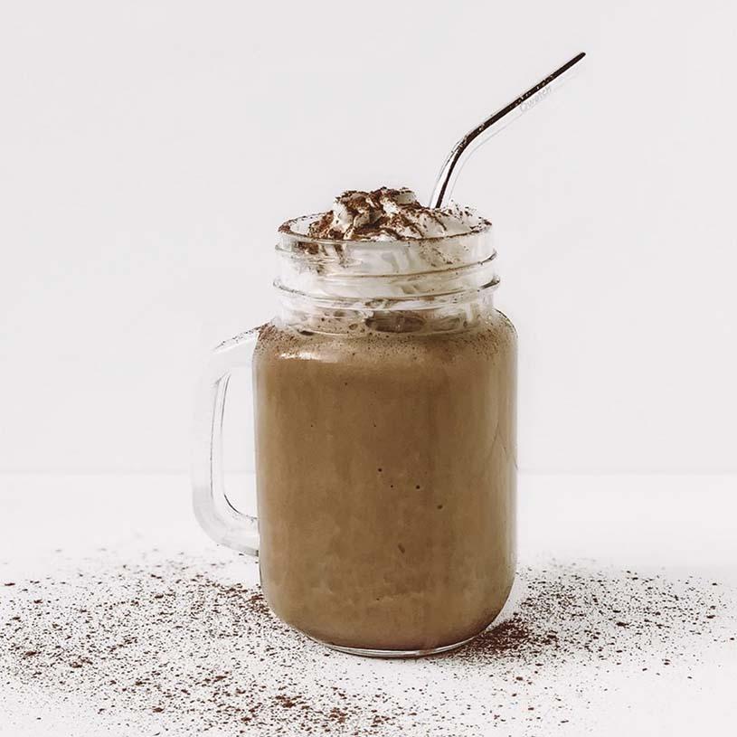 Receta de Frappuccino de Chocolate