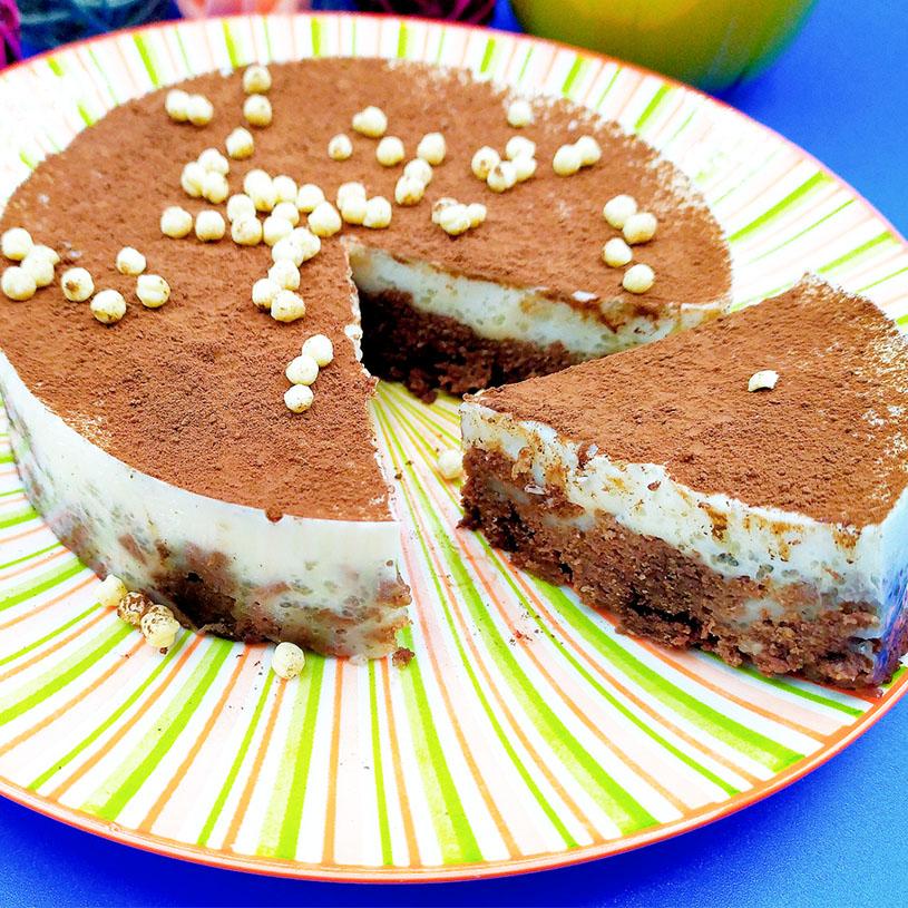 Receta de Tartaleta de chocolate y caramelo sin horno