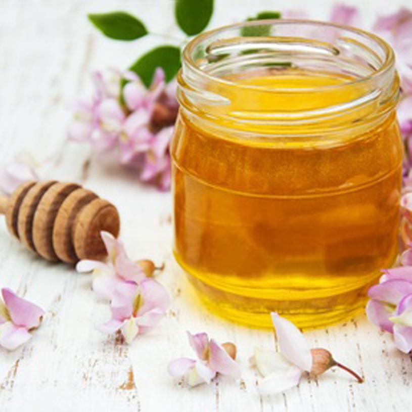 La miel de acacia edulcorante natural