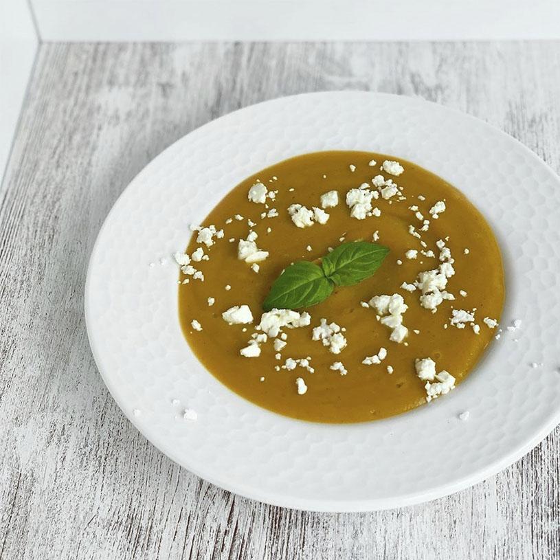 Receta de Crema de verduras, espelta y legumbres