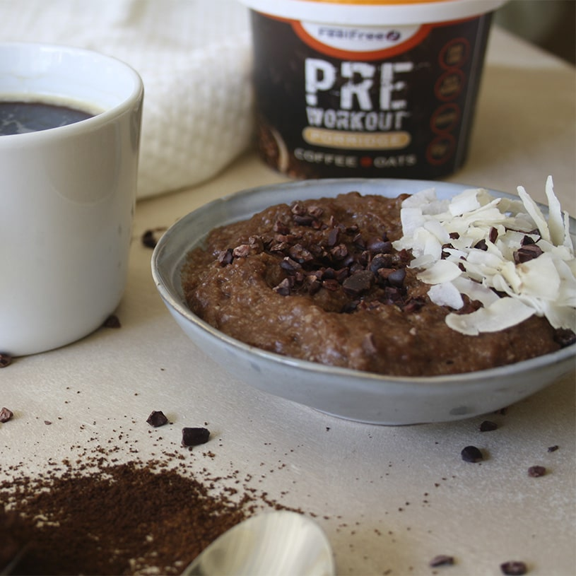 Receta de Porridge de Café con Avena