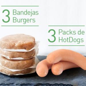 Pack Burger FIT + Hot Dog