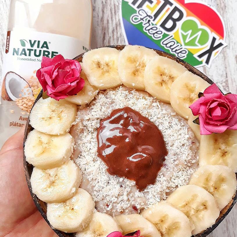 Receta de Porridge con Plátano y Coco