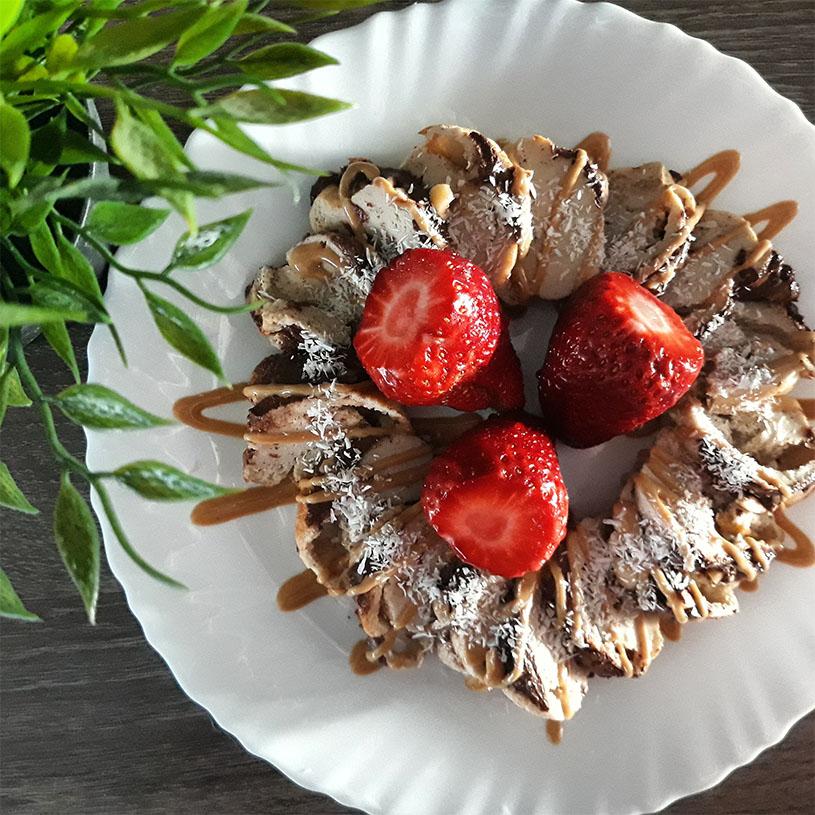 Receta de Bizcocho de quinoa y avena con canela