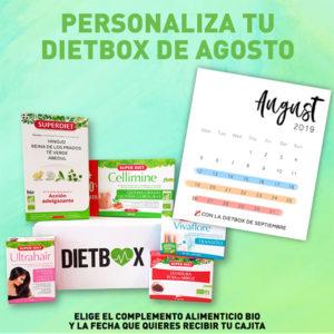 Personaliza tu DietBox de Agosto