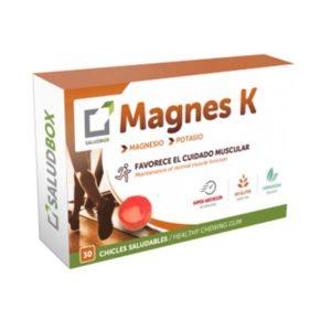 Magnes K 30 chicles funcionales SaludBox