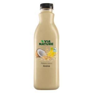 Bebida avena plátano y coco 1L Via Nature