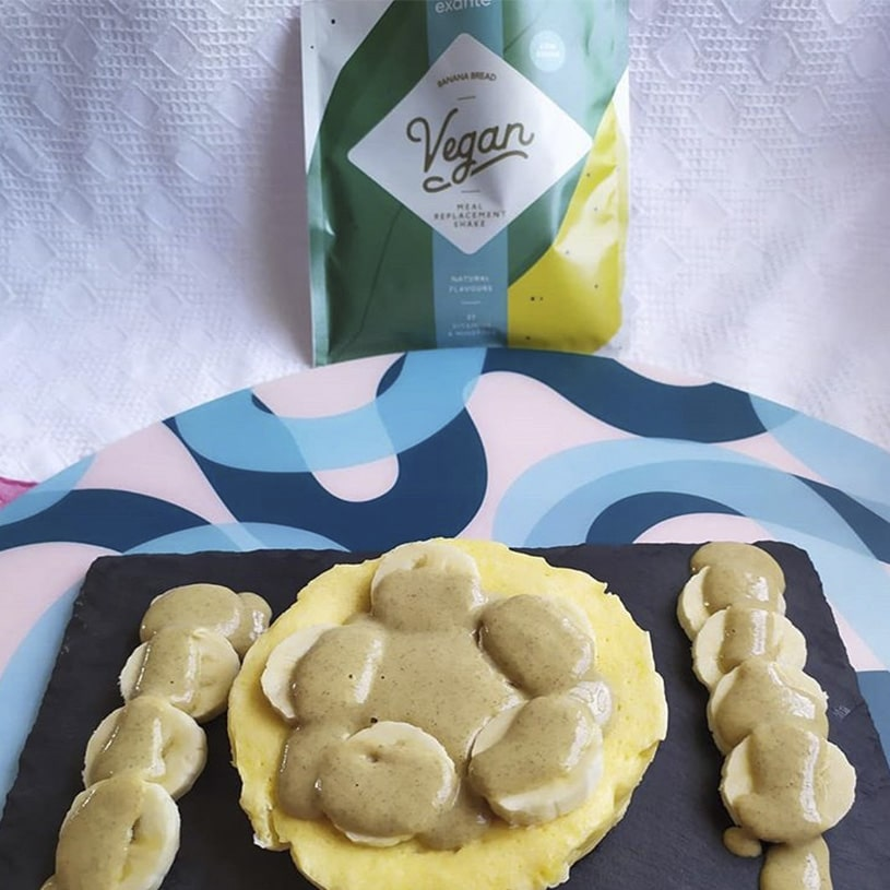 Receta de Cheescake con plátano