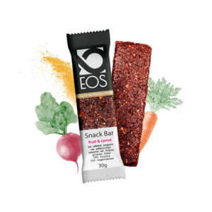 Barrita Frutas y Zanahoria 25 g EOS Nutrisolutions