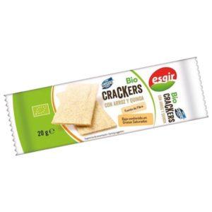 Bio Crackers con arroz y quinoa