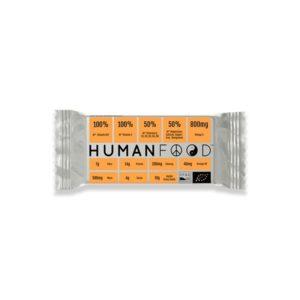 Human Food Bar 76 g naranja