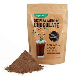 Mix para Batido de Chocolate y Avena 350g Manduka