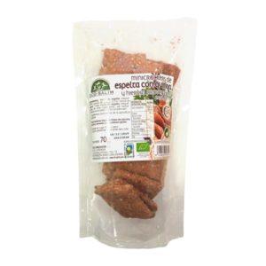 Minicrackers de Espelta con quinoa