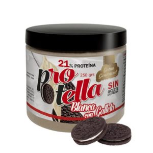 Protella de Chocolate Blanco y Galleta 250g