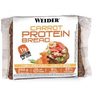 Protein Bread Carrot 250gr Weider