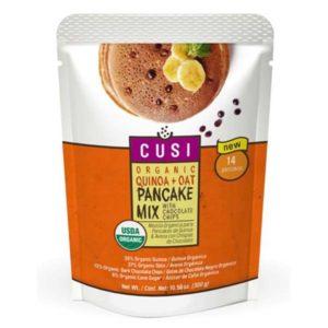 Pancakes de quinua y avena con chispas de chocolate 300gr