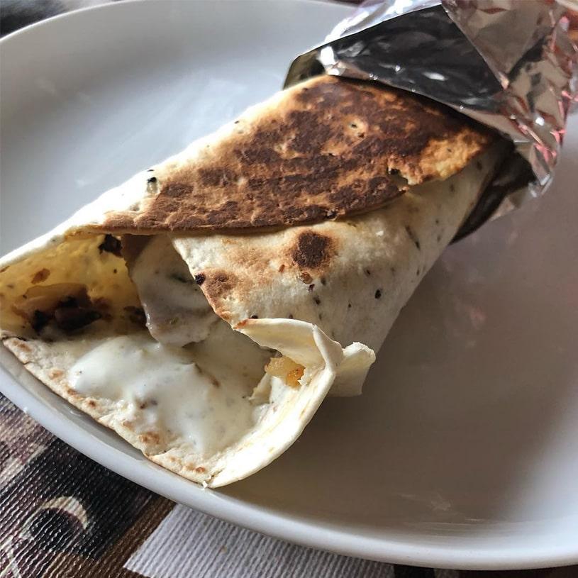 Receta de kebab Saludable