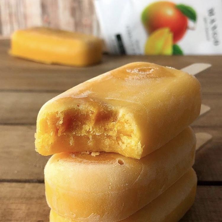 Receta Helado de Mango