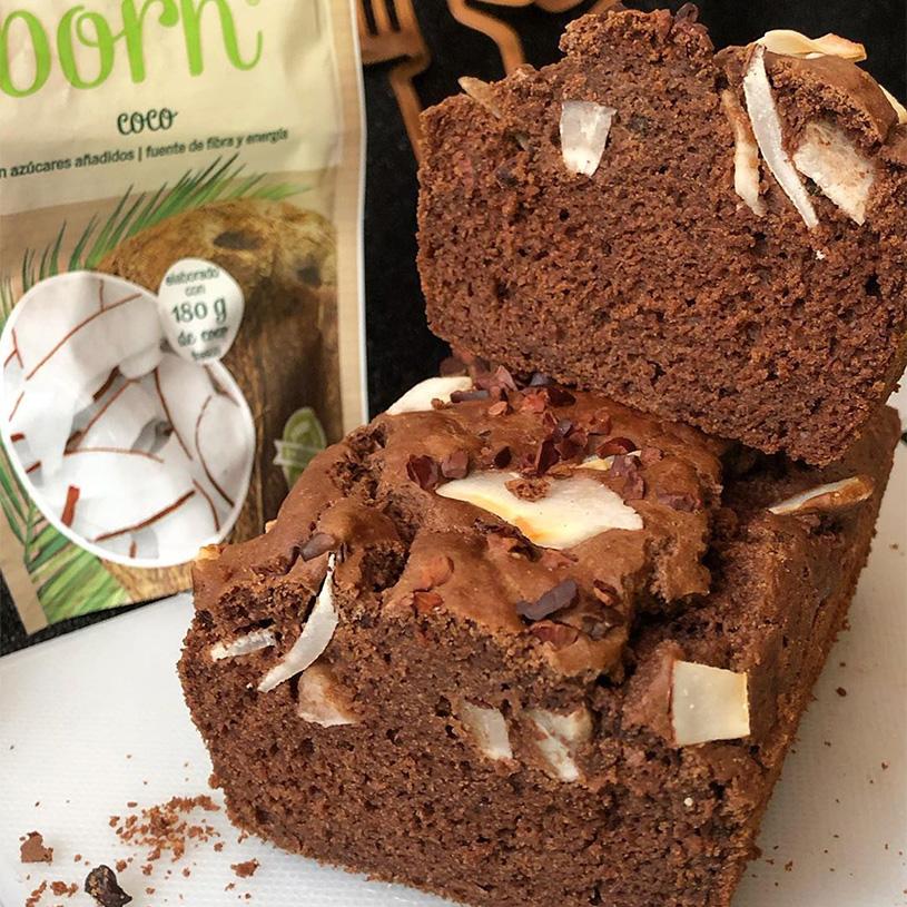 Receta de Bizcocho de Chocolate con chips de coco