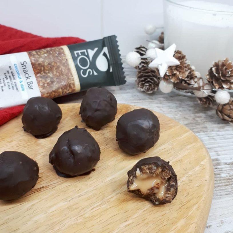 Receta de Bolitas de Chocolate