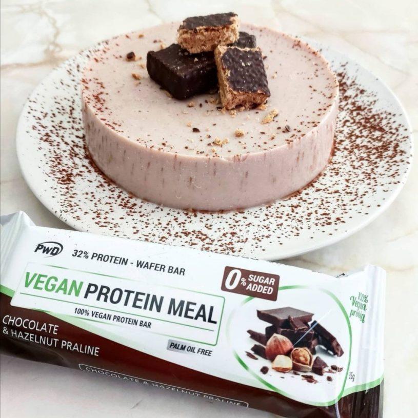 Receta de Cheesecake de Choco Vegana 2