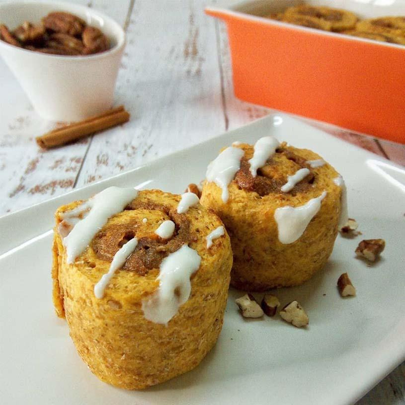 Receta de Cinnamon rolls de boniato