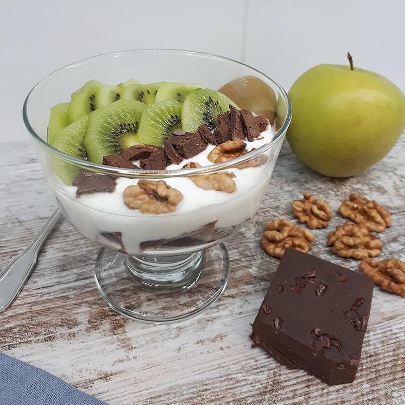 Receta de Copa de Yogur Vegana