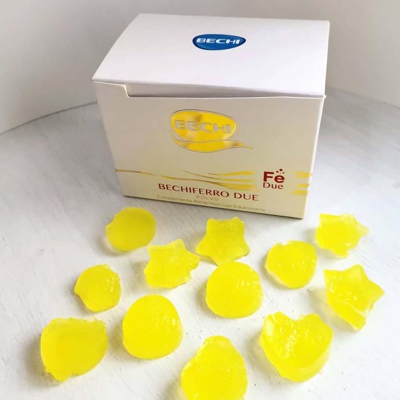 Receta de Gominolas de vitaminas
