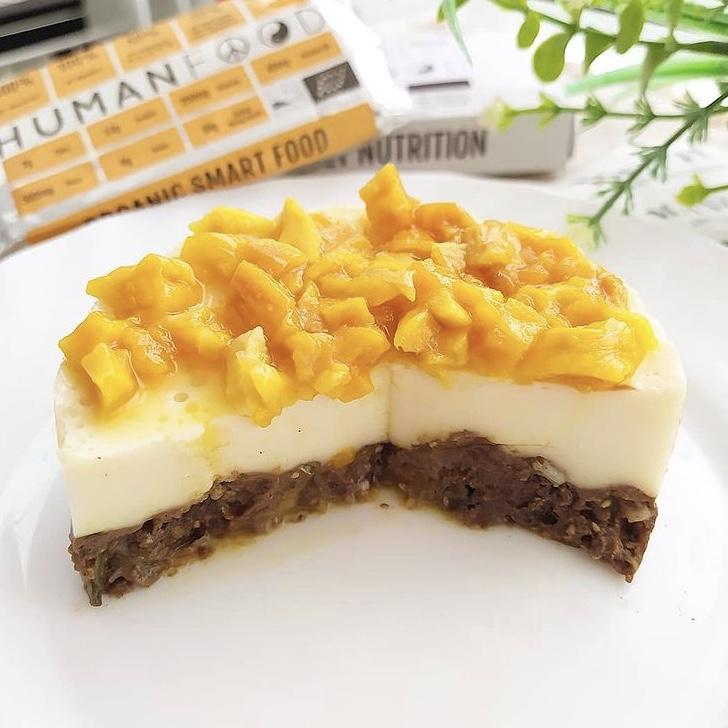Receta de Mango Cheesecake Saludable
