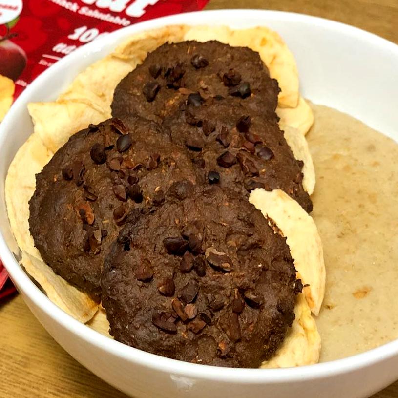Receta de Milk chocolate cookies & porridge