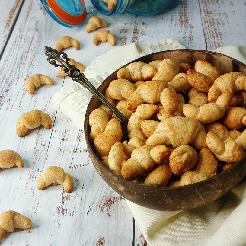 Receta de Mini Croissant Cereal