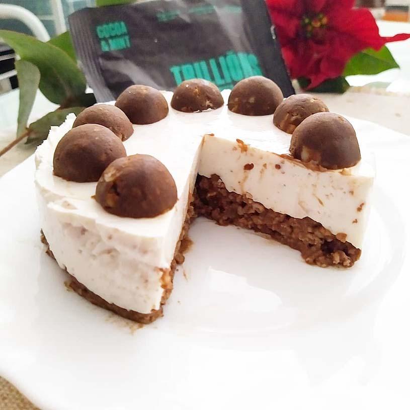 Receta de Mini tarta estilo straciatella