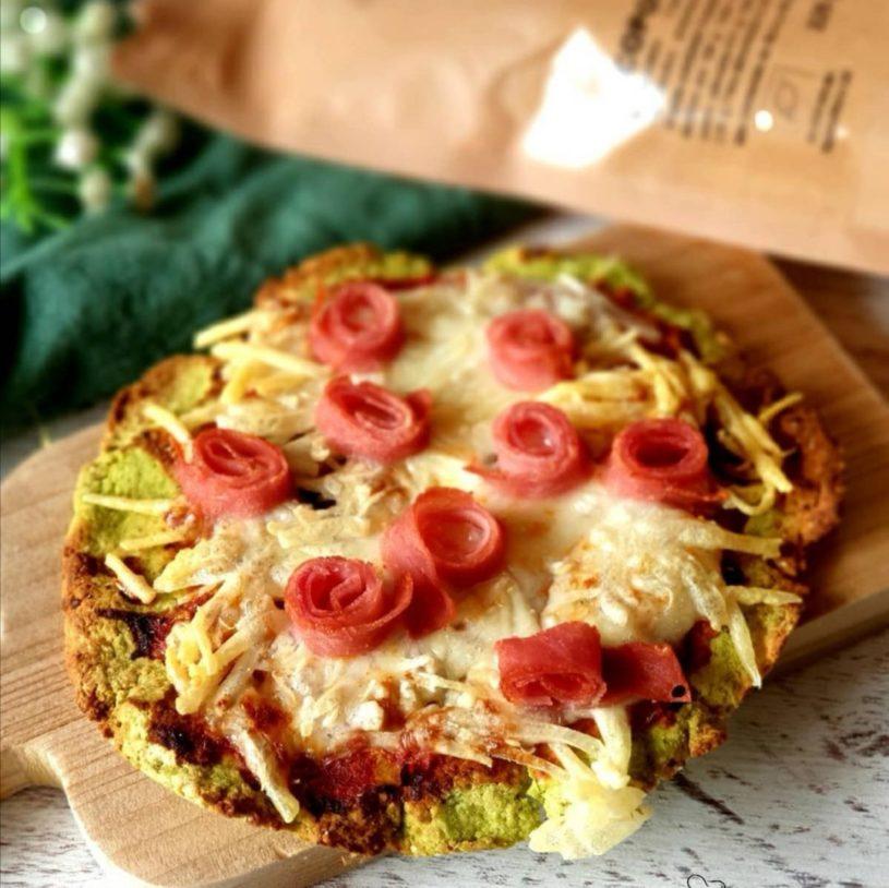 Receta de Minipizza con base de Guisantes