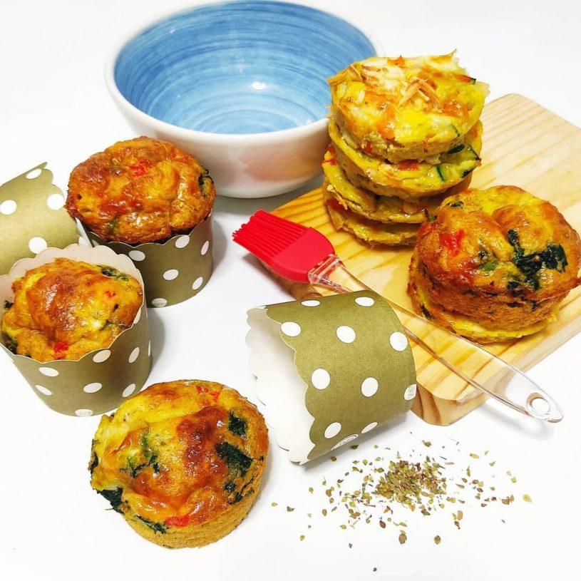 Receta de Muffins de Verduras