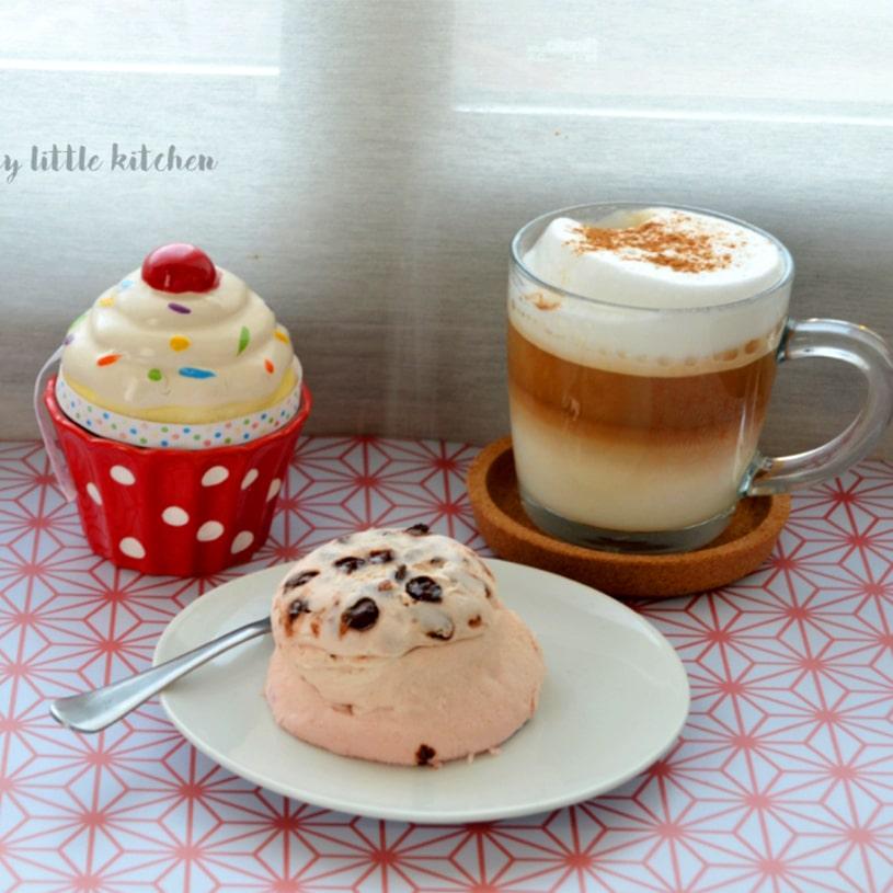 Receta de Mugcake de fresa y chocolate