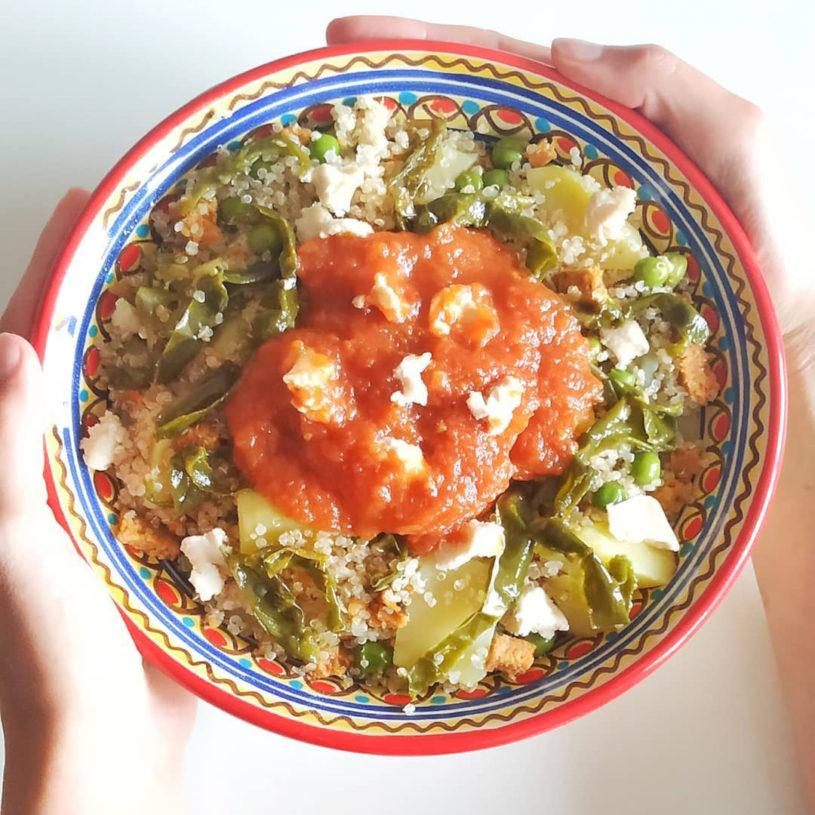 Receta de Phisara de Quinoa