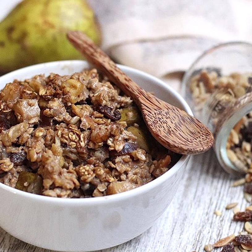 Receta De Porridge Al Horno Alimentos Saludables