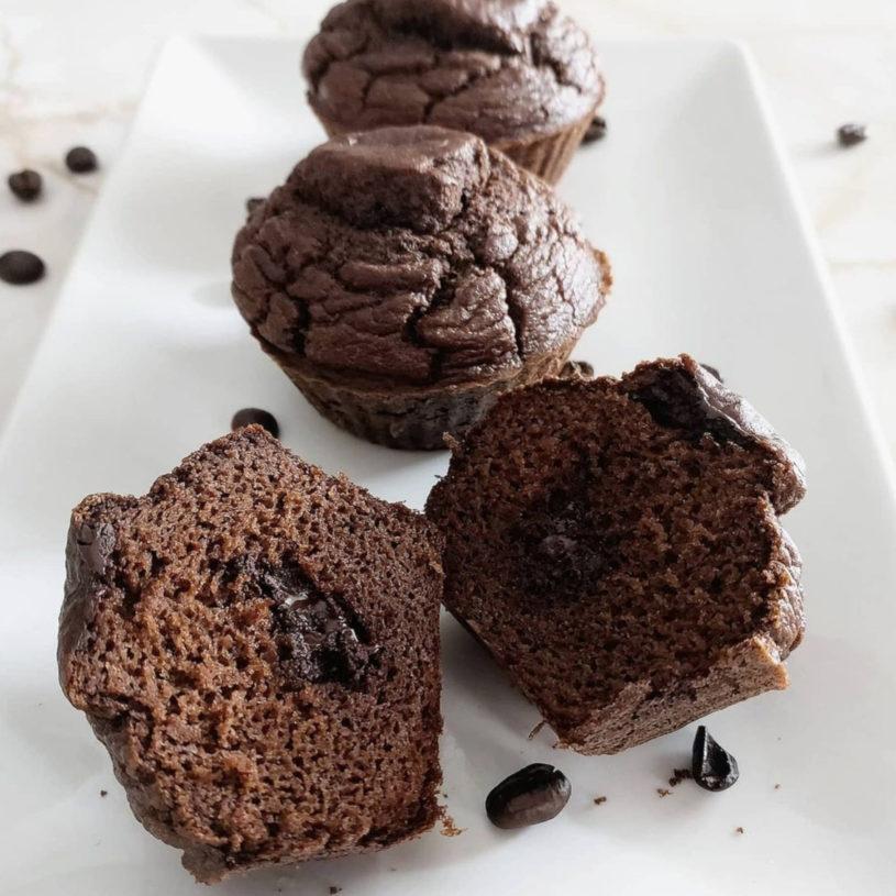 Receta de Muffins de Chocolate y Café