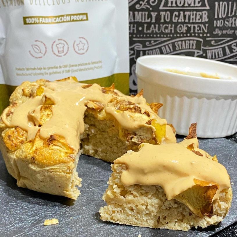 Receta de pastel de manzana y cacahuete