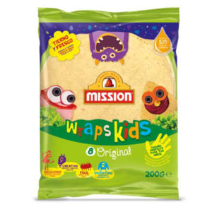Wraps Kids 200g Mission