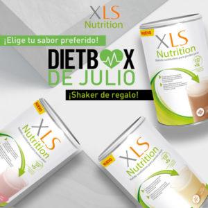 XLS Nutrition 400 g + shaker de regalo (elige el sabor)