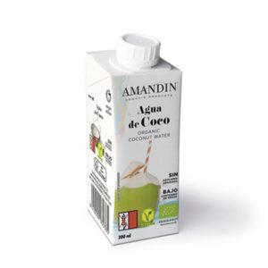 Agua de coco 200ml Amandin