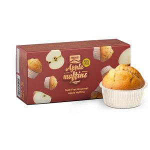 Muffins Manzana Prozis 60g