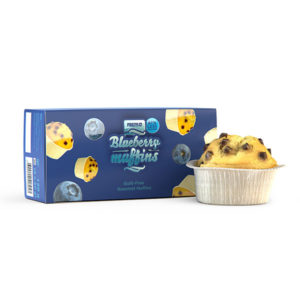 Muffins de Arándanos 60g Prozis