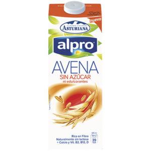 Bebida de avena sin azúcar AlPro 1 litro