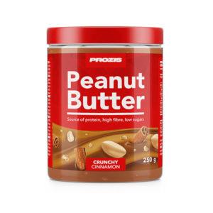 Crema de cacahuete con sabor a rollo de canela 250g Prozis