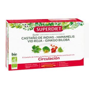 Cuarteto Circulación 20 x 15 ml BIO SUPERDIET