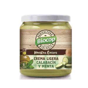 Crema ligera de calabacín y menta Biocop 295g