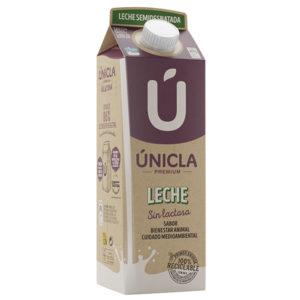 Leche Únicla Semi Sin Lactosa 1L